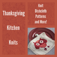 17 Thanksgiving Kitchen Knits: Knit Dishcloth Patterns and More!