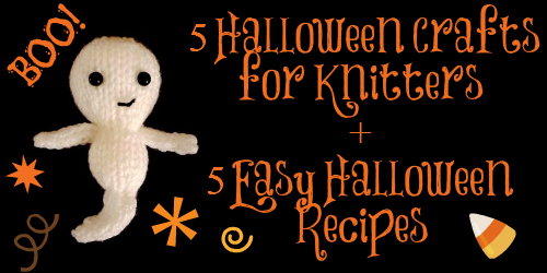 Spooky Knit Ghost Toy