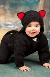 Baby Black Cat Costume