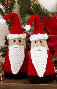 Santa Gnome Ornaments Allfreeknitting Com