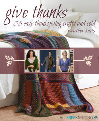 38 Easy Thanksgiving Crafts and Cold Weather Knits
