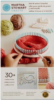 e65baac286d Martha Stewart Crafts Knit   Weave Loom Kit