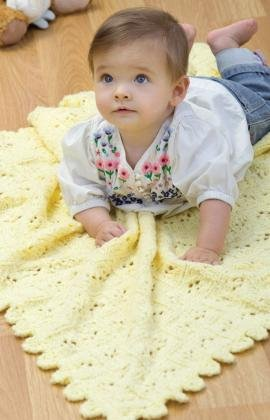 Knitting for baby 6 knit baby blankets allfreeknitting lacy baby blanket knitting patterns eyelet blanket dt1010fo
