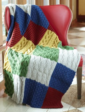 The Most Popular Patterns for Afghans: 16 Knit and Crochet ...