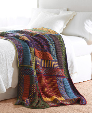 The Most Popular Patterns for Afghans: 16 Knit & Crochet Afghan