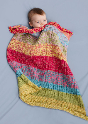 Knitting for Baby: 4 Easy Afghans from Lion Brand