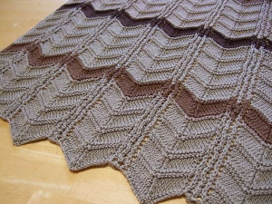 Chocolate Layer Cake Afghan