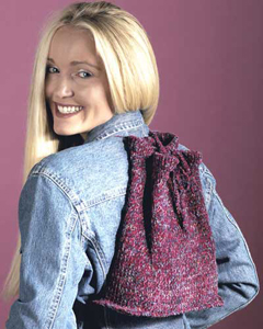 knit back pack