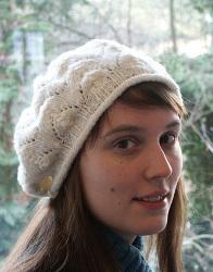 Free Double Knitting Beret Pattern : Meret AllFreeKnitting.com