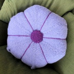 Wooly Morning Glory Pillow