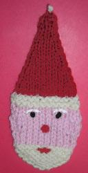 Santa Face And Head Ornament Allfreeknitting Com