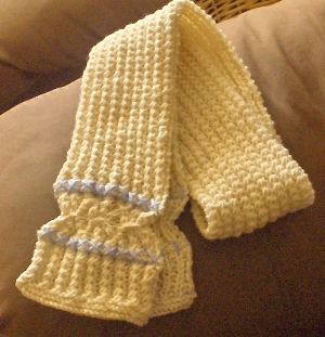 Butter Cookie Scarf