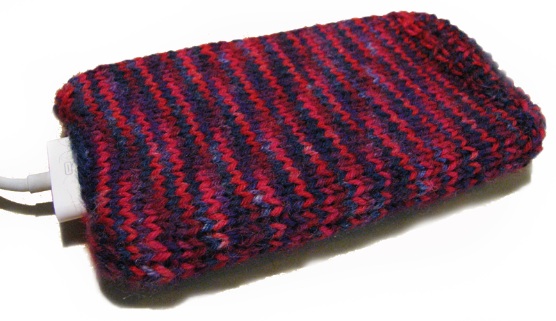 Knitted iPhone Cozy