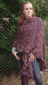 Knitting Stitches Wrap 1 : Cozy Free Shawl Patterns: 7 Knitted Shawl Patterns Perfect for Fall Free eBoo...