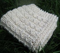 Simple Weave Dishcloth