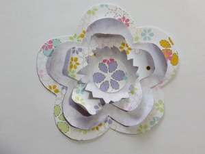 3D Flower Birthday Card