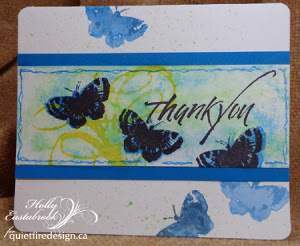 Beauteous Butterflies Thank You Card