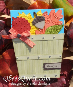 Bushel Basket Leaf Card