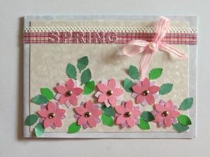 Celebrate Spring Card Allfreepapercrafts Com