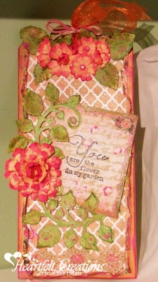 Fancy Lattice Flower Card