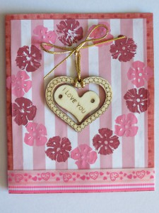 Heartfelt Valentine Wreath Card