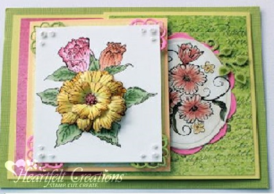 Flowering Reflections Card