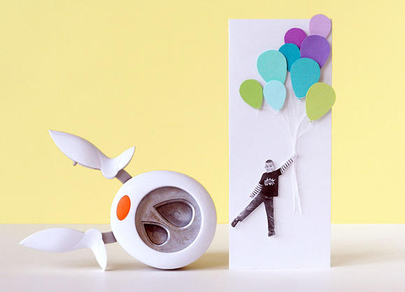 Paper Punched Balloons