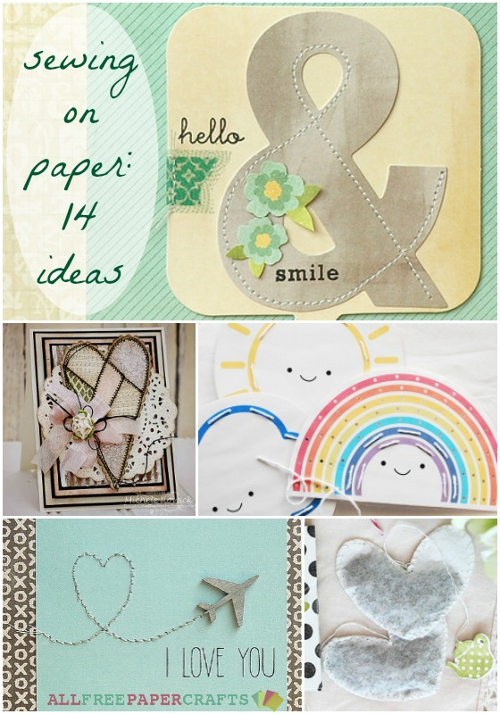Sewing on Paper: 14 Paper Stitching Ideas