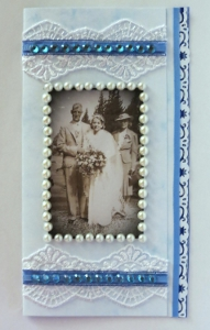 Something Old Something Blue Wedding Invitation