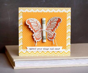 Spread Your Wings and Soar Butterfly Card