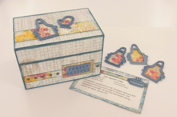 Family Secrets Recipe Box and Cards