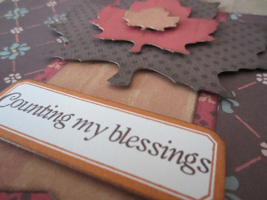 Counting My Blessings Bag for Thanksgiving