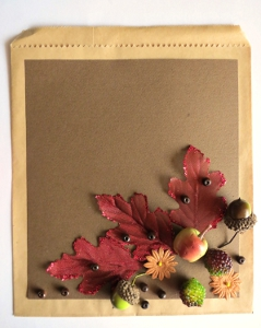Ornate Thanksgiving Dinner Invitation Sleeve
