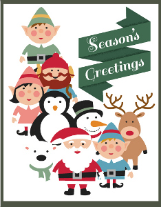 18 Free Printable Christmas Cards and Homemade Christmas Card ...