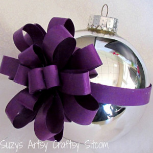 Wrapped Christmas Tree Ornaments