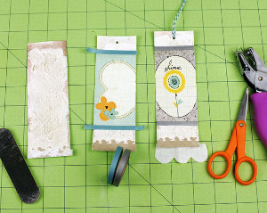 Beautiful Mixed Media Bookmarks