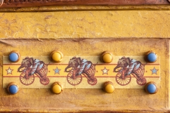 Mixed Media Circus Travel Box