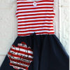 Ahoy Mateys Circle Skirt Dress
