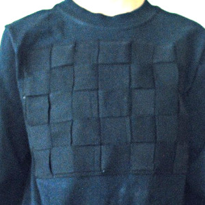 Applique Basketweave Shirt for Boys
