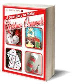 6 Sew Easy to Make Christmas Ornaments