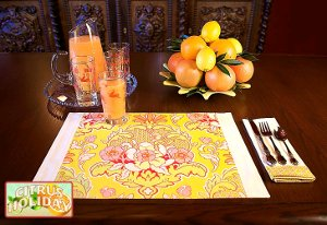 Fussy Cut Placemats