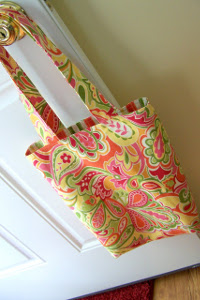 Reversible Library Tote