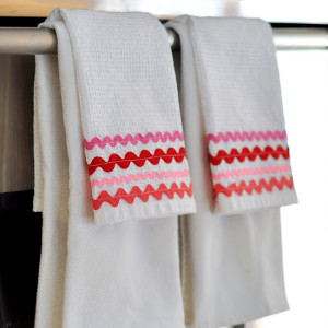 Rick Rack Dish Towels