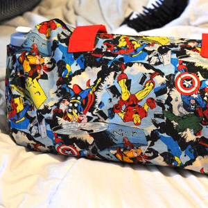 Superhero Gym Bag