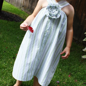Upcycled Dress for Girls