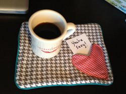 25 Free Mug Rug and Placemat Patterns