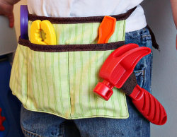 Child's Tool Belt Tutorial