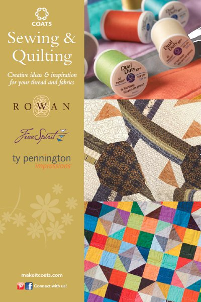 Coat's Sewing and Quilting Free eBook