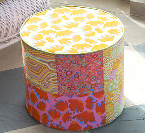 Colorful Relaxation Hassock