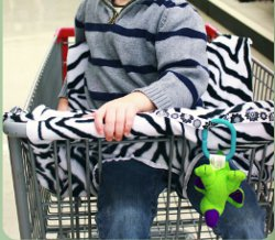 Free Baby Shopping Cart Cover Pattern